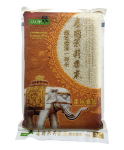 W山水米泰國茉莉香米3公斤