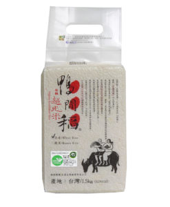 W【鴨間稻】有機越光白米 1.5kg