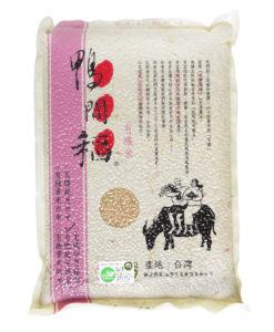 W鴨間稻有機越光糙米3公斤