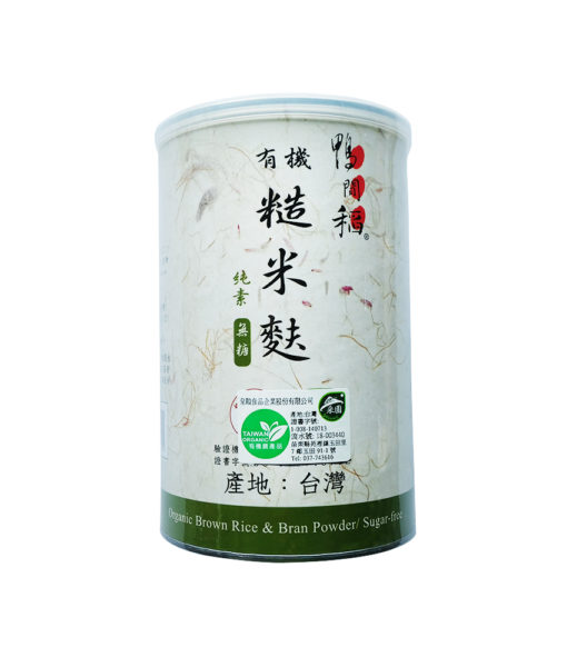 W2有機糙米麩400G